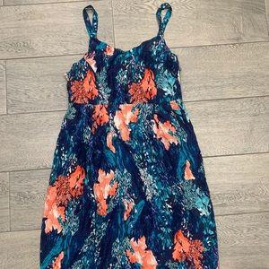Old Navy floral print dress Size M